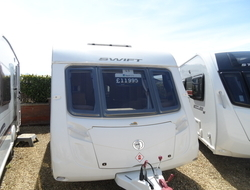 Swift Conqueror 480m/m 2 berth, (2010) Touring Caravan for Sale