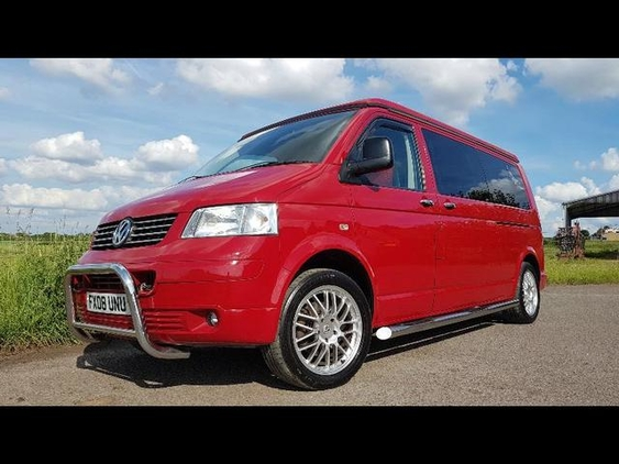 VW (Volkswagen) TRANSPORTER T32 T5 LWB 130 Diesel, (2008) Used Campervans for sale in South West