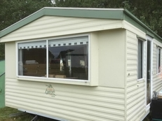 Atlas Oasis static caravan sited in Witton Castle Country Park