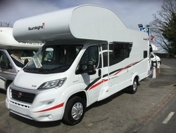 Sunlight, (2017) New Motorhomes for sale