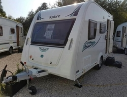 XPLORE 304 SALE AGREED! , 4 Berth, (2016) Used Touring Caravans f...