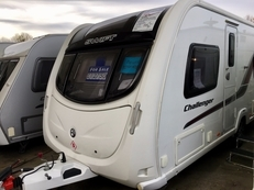 Swift Challenger 565 4 berth, (2011) Touring Caravan for Sale