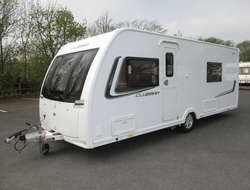 Luxury Bailey UNICORN VALENCIA 4 Berth 2010 Touring Caravans For Sale