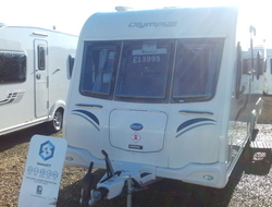 Bailey Olympus 530/4 4 berth, (2013) Touring Caravan for Sale