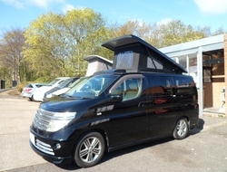 Nissan Elgrand Automatic Petrol Campervan In Black, Berth, (2003)...