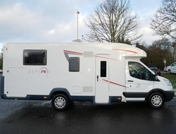 Roller Team ZEFIRO 695, 4 Berth, (2016) Used Motorhomes for sale