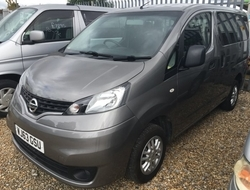 Nissan NV200 1. 5, Berth, (2013) Used Motorhomes for sale