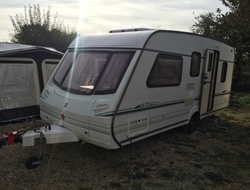 Abbey Vouge GTS 561, 5 Berth, (2001) Used Touring Caravans for sale