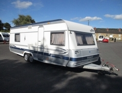 Fendt Platin 650 TFD, 4 Berth, (2004) Touring Caravans for sale