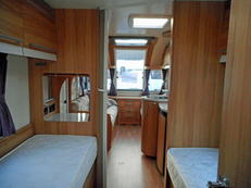 Bailey Unicorn Cadiz 4 berth, (2014) Touring Caravan for Sale