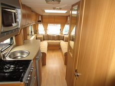 Swift Charisma 650 (2008) 6 berth, (2008) Touring Caravan for Sale in Newport