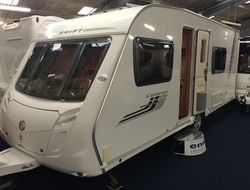 Swift Charisma 550 4 berth, (2010) Touring Caravan for Sale