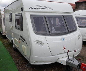Lunar Quasar 462, 2 Berth, (2010)  Touring Caravans for sale
