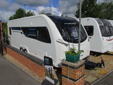 Sterling Continental 630 4 berth, (2015) Touring Caravan for Sale in Salisbury