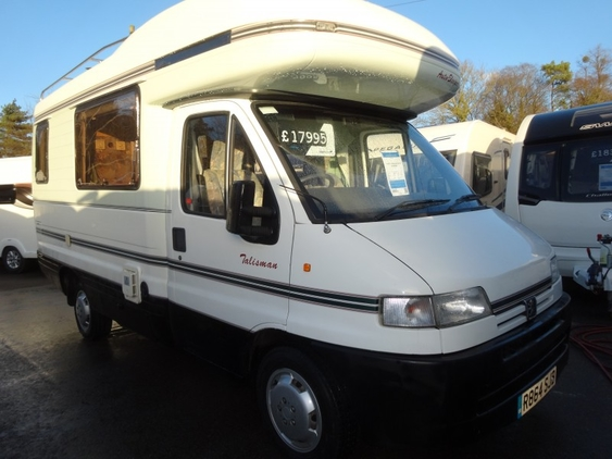 Auto Sleepers For Sale Uk: Auto-Sleeper Talisman, (1998) New Campervan For Sale In