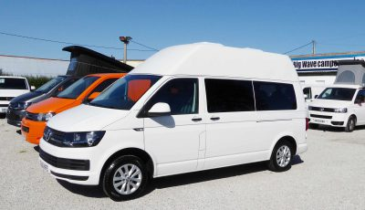 VW (Volkswagen) Transporter Long Wheel Base High Roof Four Berth Campervan Conversion, (2016)  Campervans for sale in South West
