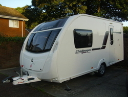 Swift Challenger Sport 442, Berth, (2013) Touring Caravans for sale