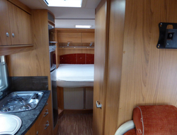 Burstner Solano T725, Berth, (2008) Used Motorhomes for sale