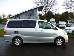 TOYOTA ALPHARD, (2002) Used Campervans for sale in Scotland