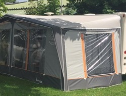 Isabella Capri Awning in Wiltshire
