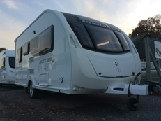 Sterling Eccles Topaz SE 2013, 2 berth, (2013) Used - Good condition Touring Caravans for sale