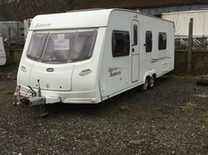 Lunar Solaris 2, 4 berth, (2007) Used - Good condition Touring Caravans for sale