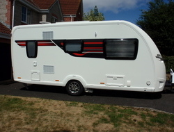 Sterling Elite 480, 2 berth Berth, (2016) Used - Good condition Touring Caravans for sale
