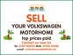 VW (Volkswagen) All Models Coachbuilt, High Top & Elevating Roof, 4 berth, (1995) Used - Good condition Motorhomes for sale for sale