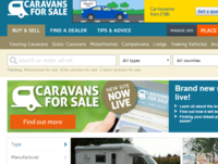 Brand new Caravans for Sale website is now live